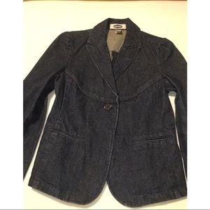Old navy denim jacket/blazer
